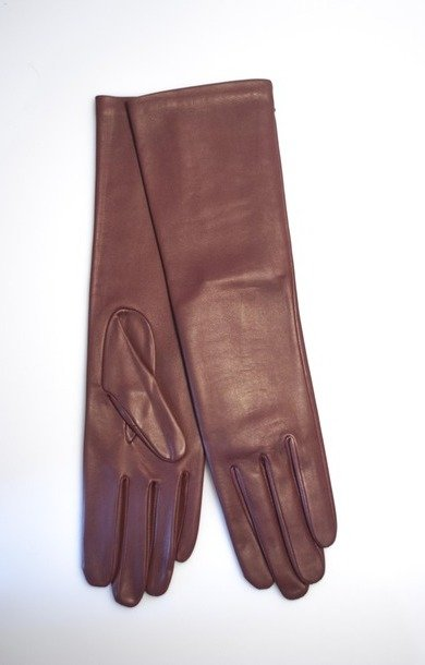 Celia Long Leather Glove Samourai