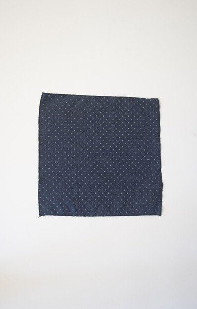 Mini Pocket Square Navy