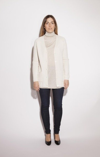 Oder Wool & Cashmere Cardigan Ice
