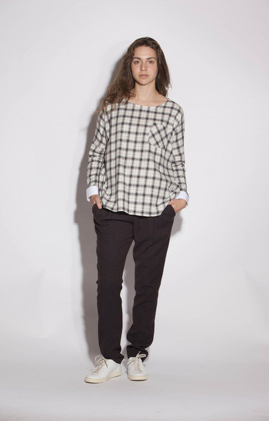 Thomas Marron et Ecru Blouse