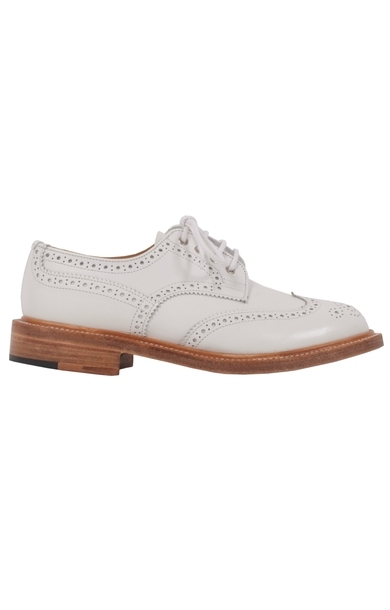 Derby Brogue White